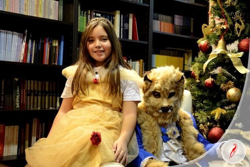 Educational System Kreativno Pero Announcing Amazing Theatre Play  Beauty and the Beast