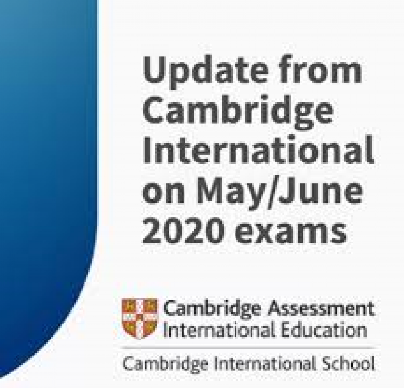 Cambridge International – May/June 2020 exams